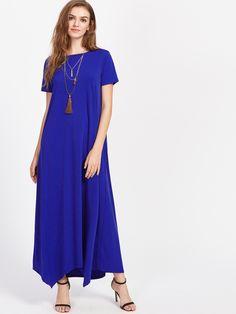 Модное платье с карманами