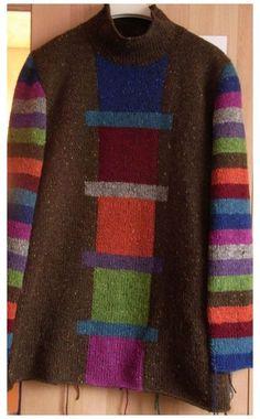 Knitting Designs, Knitting Projects, Loom Knitting, Baby Knitting, Baby Pullover, Knit Jacket, Crochet Fashion, Sweater Fashion, Crochet Lace