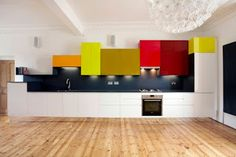 ARREDAMENTO E DINTORNI: cucine colorate