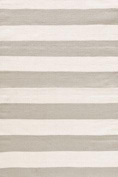 Dash & Albert's Catamaran Stripe Indoor/Outdoor Rug in Platinum & Ivory featured on Bryn Alexandra Indoor Outdoor Area Rugs, Outdoor Areas, Dash And Albert, Rug Company, Striped Rug, Catamaran, My Living Room, Rugs On Carpet, Backgrounds