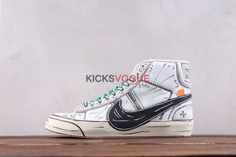 the latest 8cd87 905a1 Surreal Anime Culture Sketch Nike Off White Blazer Studio Mid Hand-Painted  Custom