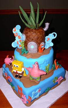 Sponge Bob Birthday Cake...if only you could appreciate