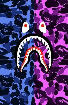 Bape Shark Wallpaper, Bape Wallpaper Iphone, Hypebeast Iphone Wallpaper, Graffiti Wallpaper Iphone, Supreme Iphone Wallpaper, Deadpool Wallpaper, Glitch Wallpaper, Nike Wallpaper, Iphone Wallpaper Off White