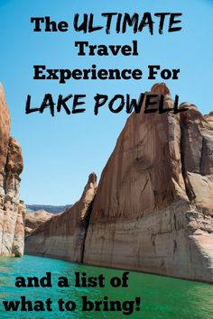 Lake Powell is the ultimate travel destination families big and small. Learn more about our family's Lake Powell houseboat trip and our tips for Lake Powell travel. Summer Travel, Travel With Kids, Family Travel, Family Vacations, Death Valley, Lake Powell Houseboat, Lake Powell Utah, Nevada, Monument Valley