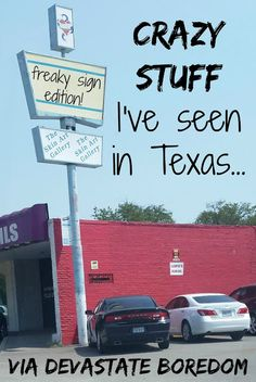 Devastate Boredom: Crazy Stuff I've Seen in Texas: Freaky Signs Edition - The Skin Art Gallery, Legal Drug Store, & Cajun Fried Turkeys in a Warehouse!