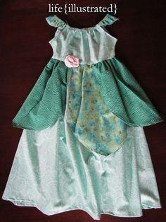 life {illustrated}: Disney Princess Dresses