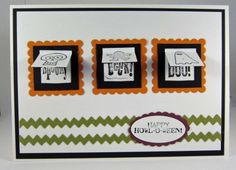 Stampin Up! Halloween card 2011