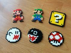 Super Mario Bros aimants - Hama perles rétro - livraison gratuite de UK !