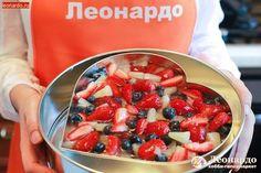 Фруктово-ягодный торт с сырным кремом | Уроки творчества | Леонардо хобби-гипермаркет - сделай своими руками