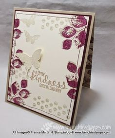 Stamp & Scrap with Frenchie: Shadow with Blackberry Bliss and Sahara Sand