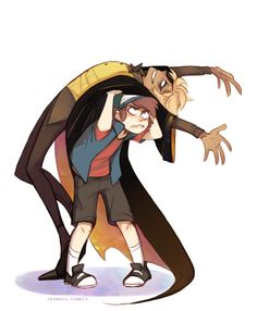 Bill: Oh no, gravity is increasing on me! Dipper: No it's not!! Bill: It is too, Pine Tree the same thing happened yesterday.