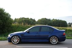 What a e46 M3 sedan would have looked like from the factory.