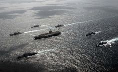 US Navy Carrier Strike Group