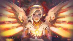CHERISH (the Last Light) by Seiorai.deviantart.com on @DeviantArt - More at https://pinterest.com/supergirlsart/ #mercy #overwatch #fanart