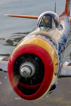"""...My P-47 is a pretty good ship, and she took a round coming cross the Channel last trip. I was thinking 'bout my baby and letting her rip, always got me through so far..."" Steve Earle"