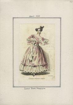 Ladies' Pocket Magazine v. 16, plate 127 April, 1835