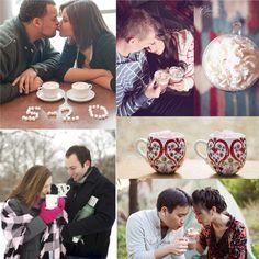 hot chocolate wedding inspiration