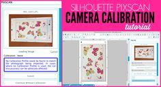 Silhouette pixscan camera calibration tutorial