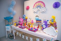 festa infantil com tema ursinhos carinhosos