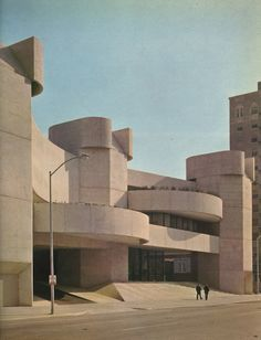 Alley Theatre, Houston, Texas, 1966-68 (Ulrich Franzen)