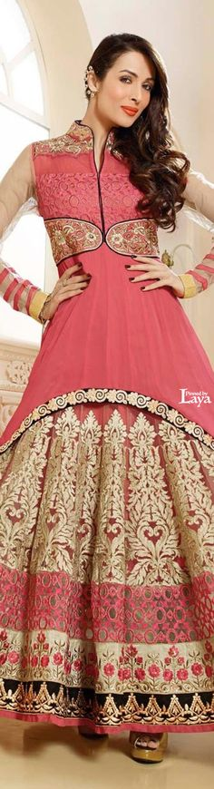 ♔LAYA♔ANARKALI CHURIDAR♔ Dress Indian Style, Indian Dresses, Indian Outfits, Anarkali Churidar, Anarkali Suits, Bridal Corner, India Fashion, Fashion Trends, Fashion Styles