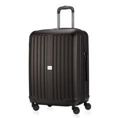 """Xberg - Hartschalenkoffer - Hauptstadtkoffer - Graphit Matt; Schwarzer #Reisekoffer aus der Serie """"X-Berg"""" von #Hauptstadtkoffer.  #Hartschalenkoffer #Schwarz #Koffer #Travel #Luggage #Reisen #Urlaub #black #Hardcase => mehr Schwarze Koffer: https://hauptstadtkoffer.de/de/reisegepack/alle-produkte?color=24"""
