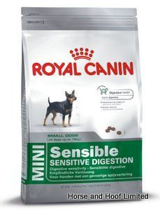 Royal Canin Mini Sensible 2kg Royal Canin Mini Sensible is a complete food for small size breeds that may be having digestive issues which will have knock on effects to other parts of their health.