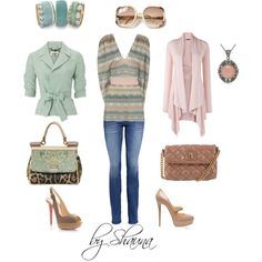 looks good with both jacket/shoe options, created by shauna-rogers on Polyvore