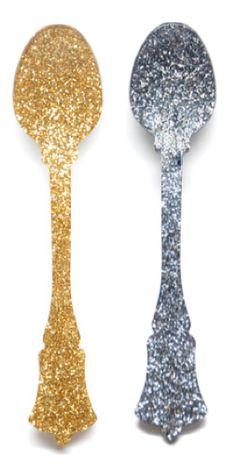 sparkle spoons!