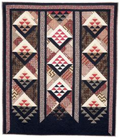 Made in New Zealand II: Quilt Gallery / Heather harding, Taniko Series, 2004