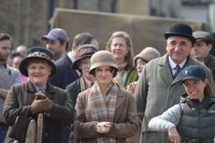 flowyjoey:Downton Abbey S6 filming at Lacock, Wiltshire...