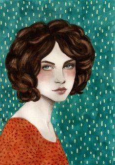 Margot by Sofia Bonati (contemporary) - (society6)