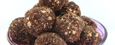 They pack a punch of powerful nutrients like Omega 3 and protein and will keep you going before and after a work out, or as a mid day snack. Gluten Free Desserts, Gluten Free Recipes, Baking Recipes, Healthy Recipes, Healthy Energy Ball Recipe, Bliss Balls, Balls Recipe, Eat Dessert First, Maca Power