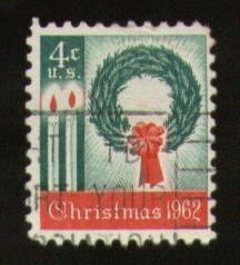 1962 Christmas Stamp  This stamp reveals how old I am...<3