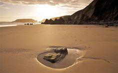 BRITAIN'S BEST BEACHES: Marloes Sands, Pembrokeshire. Picture: AP