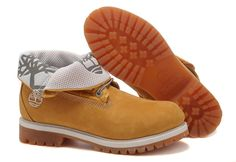 Timberland Women's Roll-Top Boot Wheat Grey $61