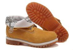 Timberland Women's Roll-Top Boot Wheat Grey $61