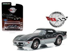 diecastmodelswholesale - 1978 Chevrolet Corvette 25th Anniversary Edition Anniversary Collection Series 4 1/64 Diecast Model Car  by Greenlight, $5.99 (http://www.diecastmodelswholesale.com/1978-chevrolet-corvette-25th-anniversary-edition-anniversary-collection-series-4-1-64-diecast-model-car-by-greenlight/)
