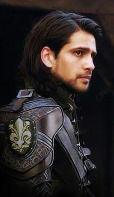 Luke Pasqualino as Dartagnan in The Musketeers Series 3