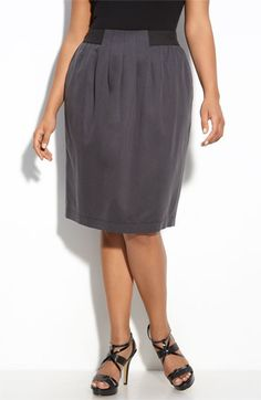 Gray is such a great neutral.  #plus size