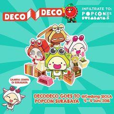 Hai! DecoDeco mau jalan-jalan ke Surabaya lho. Ada event keren nih di Gedung Siola tanggal 4 - 5 Juni 2016. . @popconasia . Bakalan ada banyak acara keren di sana. Makin keren lagi soalnya ada DecoDeco. Horeeee #popconsurabaya #popconasia #popconasia2016 #surabaya #decodeco #decodecoclub #popcon http://ift.tt/1PjdpzW Papercraft cute dollhouse
