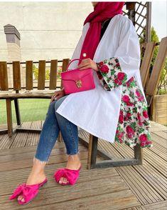 Abaya Pattern, Pants Pattern, Stylish Dress Book, Stylish Dresses, Iranian Women Fashion, Muslim Fashion, Trendy Fashion, High Fashion, Fashion Outfits