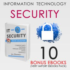 IT Security CyberSecurity Ethical Hacking Network Important 10 Bonus PDF Ebooks