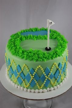 Golf cake By craigas on CakeCentral.com