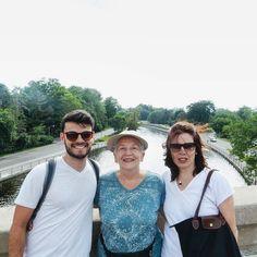 Tres generaciones! Ottawa walks!