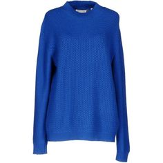 Chinti And Parker Turtleneck (€275) ❤ liked on Polyvore featuring tops, sweaters, bright blue, lightweight sweaters, turtleneck top, long sleeve sweater, long sleeve tops and cashmere sweater
