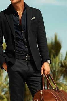 Flawless 25 Best Formal Men's Clothing https://vintagetopia.co/2018/02/28/25-best-formal-mens-clothing/ White pants are certainly worth the upkeep. #BestManClothes