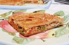 EMPANADA CASERA DE PISTO Y ATUN ~ The Spanish Food