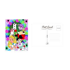 Alice in Wonderland Printable Postcard - Love of Post Digital Form, Digital Collage, Printable Postcards, Alice In Wonderland, Card Stock, Empire, Boss, Stationery, Printables