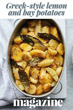 Golden, crispy and soft in the middle, these roasties make a delicious vegan side